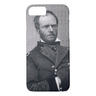 General William Tecumseh Sherman, engraved after a iPhone 8/7 Case