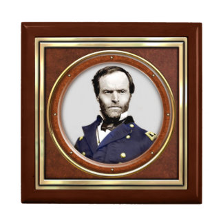 General William Tecumseh Sherman Large Square Gift Box