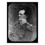 General Winfield Scott Daguerreotype 1849 Poster