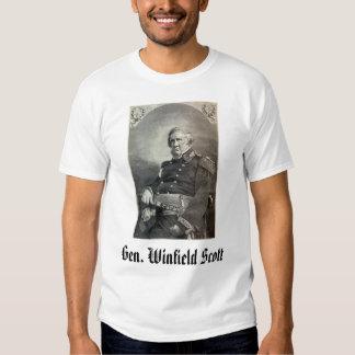 general-winfield-scott, Gen. Winfield Scott Tee Shirts