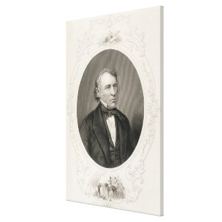 General Zachary Taylor Canvas Print