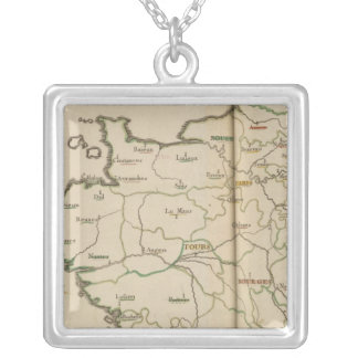Generalities of France Silver Plated Necklace