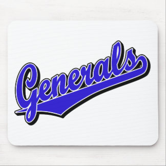Generals in Blue Mouse Mats