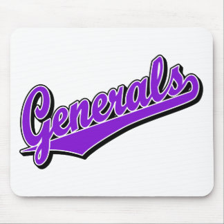 Generals in Purple Mouse Mats