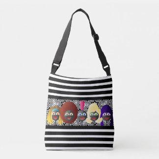 Generations of African American Women Crossbody Bag