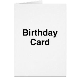 Generic Birthday Card