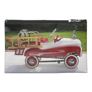 Generic Childs Metal Pedal Car Firetruck Car Travel Accessory Bag