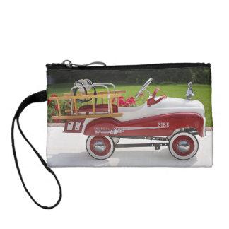 Generic Childs Metal Pedal Car Firetruck Car Change Purse