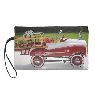 Generic Childs Metal Pedal Car Firetruck Car Wristlet