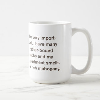 Generic Comedy™ / I'm very important... Basic White Mug