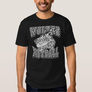 Generic Wolves Football Design T Shirts