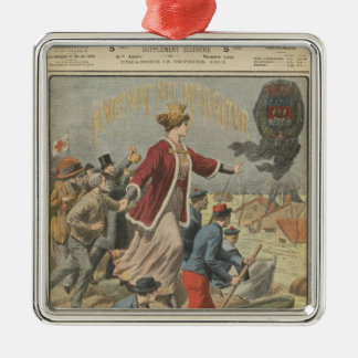 Generosity of the City of Paris and France Christmas Ornament
