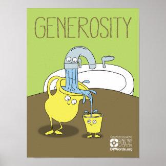 Generosity Art, Posters & Framed Artwork | Zazzle.co.uk