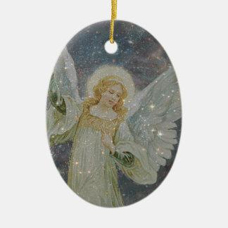 Generous -  Guardian Angel of Generosity Ceramic Oval Decoration