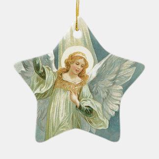 Generous -  Guardian Angel of Generosity Ceramic Star Decoration