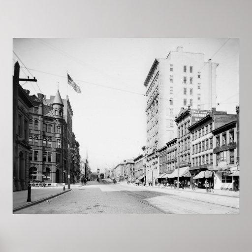 Genesee Street: 1905 Poster
