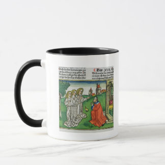Genesis 18 2 Abraham and the Three Angels, from th Mug