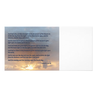 Genesis 1:14-19 ... Let there be lights Photo Cards