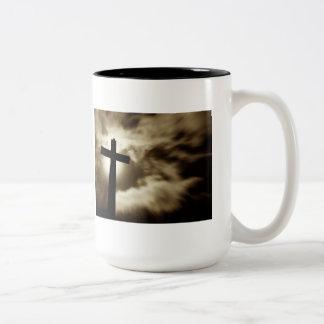 Genesis 1:1 Two Tone Coffee Mug