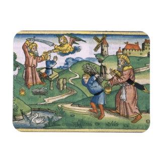 Genesis 21 1-14 Abraham's offering up of Isaac, fr Rectangular Photo Magnet