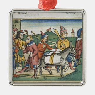 Genesis 42 25-28 Joseph sends his brothers home wi Christmas Ornament