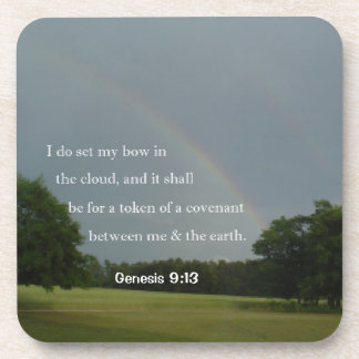 Genesis 9:13 Rainbow Coaster Set