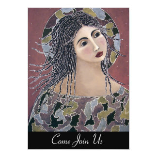Genesis Angel Any Occasion 13 Cm X 18 Cm Invitation Card