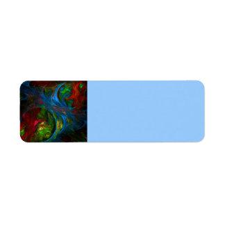 Genesis Blue Abstract Art
