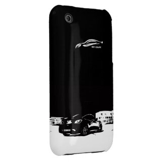 Genesis Coupe rear stance Case-Mate iPhone 3 Case