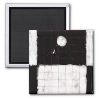 Genesis Day 1: Light 2014 Square Magnet