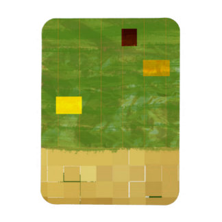 Genesis Day 3: Vegetation 2014 Rectangular Photo Magnet