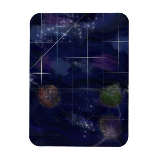 Genesis Day 4: Stars 2014 Rectangular Photo Magnet