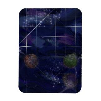 Genesis Day 4: Stars 2014 Rectangular Photo Magnet