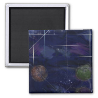 Genesis Day 4: Stars 2014 Square Magnet