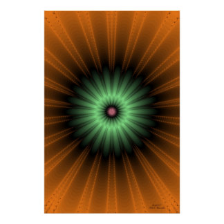 Genesis Fractal Posters
