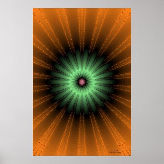 Genesis Fractal Poster