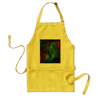 Genesis Green Abstract Art Apron