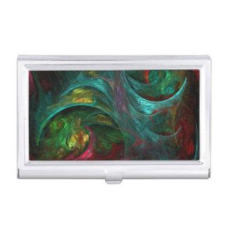 Genesis Nova Abstract Art Business Card Holder