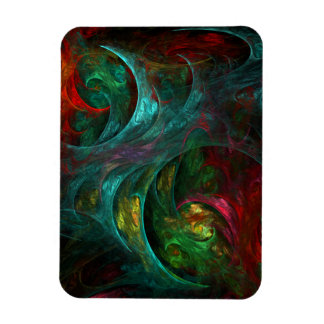 Genesis Nova Abstract Art Premium Magnet