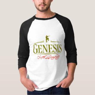 GeneStout2  Men's Raglan T-shirt