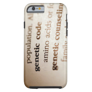 Genetic code and genetic counseling definitions tough iPhone 6 case