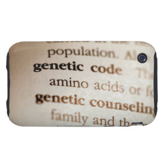 Genetic code and genetic counseling definitions iPhone 3 tough case