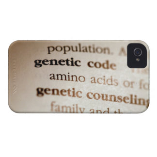 Genetic code and genetic counseling definitions iPhone 4 cover