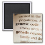 Genetic code and genetic counseling definitions refrigerator magnet