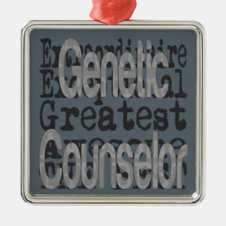 Genetic Counselor Extraordinaire Christmas Ornament