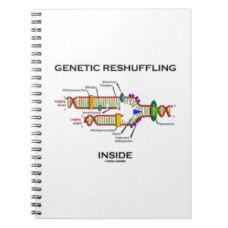 Genetic Reshuffling Inside Biology Geek Humor Note Books