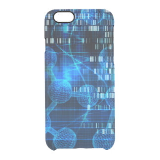 Genetic Science Research as a Medical Abstract Art Clear iPhone 6/6S Case