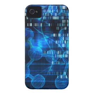 Genetic Science Research as a Medical Abstract Art iPhone 4 Case-Mate Case