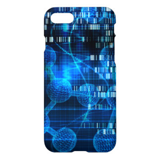 Genetic Science Research as a Medical Abstract Art iPhone 7 Case