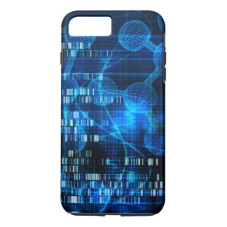 Genetic Science Research as a Medical Abstract Art iPhone 7 Plus Case